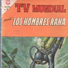 Tebeos: TEBEO. COMIC. LOS HOMBRES RANA. AÑO II. Nº 35. 1964.. Lote 23710748