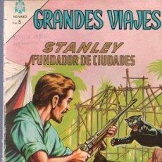 Tebeos: TEBEO. COMIC. GRANDES VIAJES. STANLEY FUNDADOR DE CIUDADES. AÑO II. Nº 18. 1964.. Lote 23710762