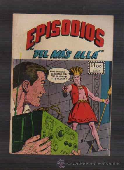 EPISODIOS DEL MAS ALLA--NUM-177 1967 EDITORA SOL MEXICO TERROR-CC.F. USA. EC-COMICS (Tebeos y Comics - Novaro - Sci-Fi)
