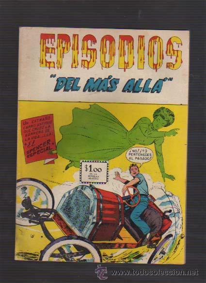 EPISODIOS DEL MAS ALLA--NUM-147 1967 EDITORA SOL MEXICO TERROR-CC.F. USA. EC-COMICS (Tebeos y Comics - Novaro - Sci-Fi)