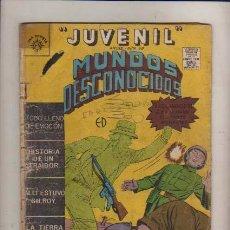 Tebeos: JUVENIL-NUM-98 MUNDOS DESCONOCIDOS-EDITORA EL SOL DE MEXICO CC.FF Y TERROR. Lote 24252156
