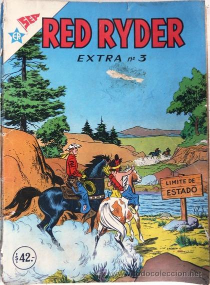 RED RYDER EXTRA # 3 - EDITORIAL NOVARO (SEA & ER) - 64 PAGINAS - CON DETALLES (Tebeos y Comics - Novaro - Red Ryder)