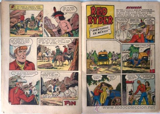 Tebeos: RED RYDER EXTRA # 3 - EDITORIAL NOVARO (SEA & ER) - 64 PAGINAS - CON DETALLES - Foto 5 - 102550331