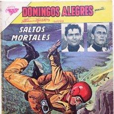Tebeos: DOMINGOS ALEGRES # 461 - SALTOS MORTALES - ENERO 1963 - EDITORIAL NOVARO (SEA) -. Lote 24540366