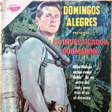 Tebeos: DOMINGOS ALEGRES # 408 - INVESTIGADOR SUBMARINO - ENERO 1962 - EDITORIAL NOVARO (SEA) - . Lote 24540668