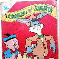 Tebeos: EL CONEJO DE LA SUERTE # 132 BUGS NOVARO 1961 CON DETALLES. Lote 24546458