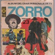 BDs: ZORRO ALBUM Nº 23. EDITORIAL TUCUMAN -ARGENTINA 1962.. Lote 24549559