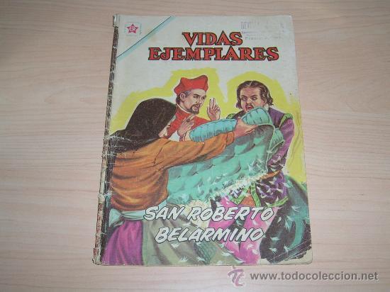 VIDAS EJEMPLARES # 132 SAN ROBERTO BELARMINO - EDITORIAL NOVARO 1962 (Tebeos y Comics - Novaro - Vidas ejemplares)