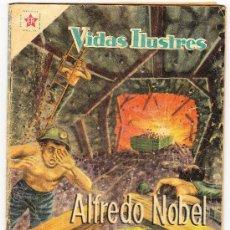 Tebeos: VIDAS ILUSTRES Nº 42 - ALFREDO NOBEL ( 1959) . Lote 25049875
