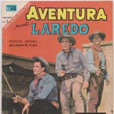 Tebeos: AVENTURA PRESENTA LAREDO Nº 501 NOVARO 1967. Lote 25043203