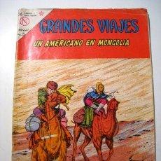 Tebeos - GRANDES VIAJES Nº 12: UN AMERICANO EN MONGOLIA - NOVARO - 1964 - 25086748
