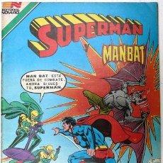Tebeos: SUPERMAN # 3-98 SUPERMAN & MAN BAT SERIE AVESTRUZ NOVARO 1982 MUY BUEN ESTADO. Lote 25314605