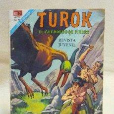Tebeos: COMIC, TUROK, NOVARO, EL GUERRERO DE PIEDRA, 1976, Nº 2111. Lote 25530169