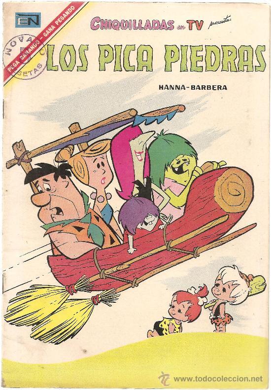 CHIQUILLADAS Nº 198 LOS PICAPIEDRAS (Tebeos y Comics - Novaro - Otros)