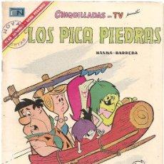 Tebeos: CHIQUILLADAS Nº 198 LOS PICAPIEDRAS. Lote 25948202