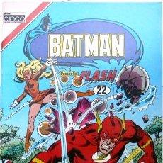 Tebeos: BATMAN # 22 - PRESENTA FLASH - ED CINCO, COLOMBIA - AÑO 1985 - FORMATO SERIE AGUILA. Lote 26006336