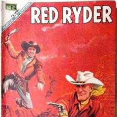 Tebeos: RED RYDER # 190 - NOVARO - FUTBOL: EQUIPO MONTERREY - VERACRUZ: HERNANDEZ - GUADALAJARA: VARGAS . Lote 26207538