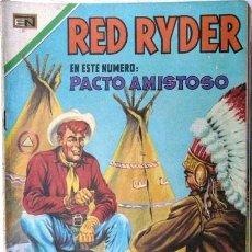 Tebeos: RED RYDER # 220 PACTO AMISTOSO NOVARO 1970 MUY BUEN ESTADO. Lote 26207547