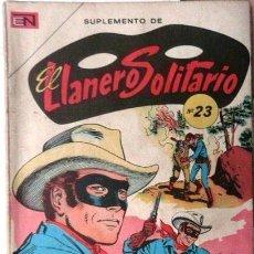 Tebeos: EL LLANERO SOLITARIO SUPLEMENTO # 23 - NUMEROS 247, 249 Y 266 - ED NOVARO - AÑO 1974 - 96 PAG -NUEVO. Lote 26227545