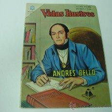 Tebeos: VIDAS ILUSTRES - NOVARO - Nº 118 - ANDRES BELLO - AÑO 1.965. Lote 26238588