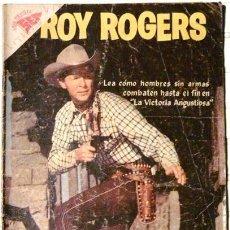 Tebeos: ROY ROGERS # 75 VICTORIA ANGUSTIOSA NOVARO 1958 BUEN ESTADO. Lote 26283302