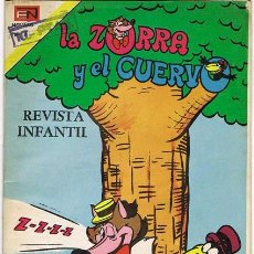 Tebeos: LA ZORRA Y EL CUERVO NUMERO 345 21/06/1974. Lote 26518947