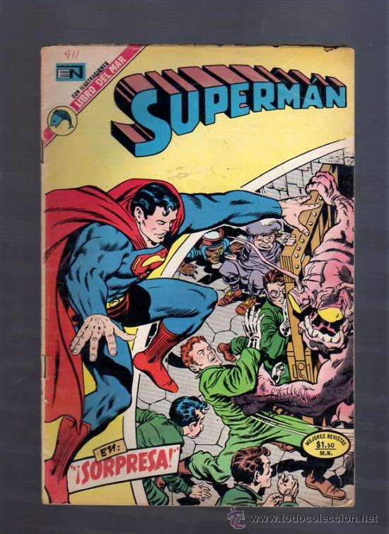 SUPERMAN -JIMY OLSEN N. 911 VS. APOKALIPSIS DIB. JACK KIRBY -NOVARO (Tebeos y Comics - Novaro - Superman)