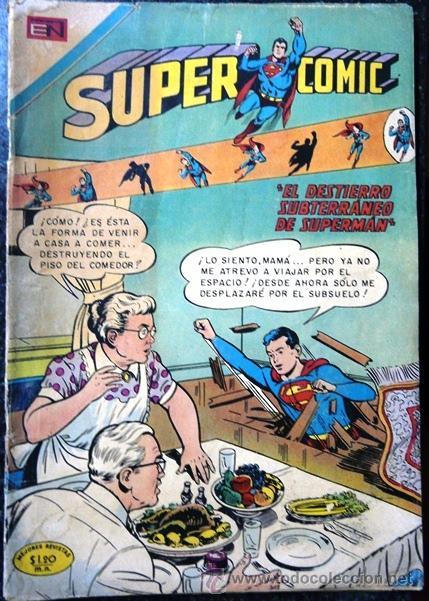 SUPERCOMIC # 35 - EL HOMBRE METEORO - AVENTURAS JUVENILES - NOVARO - AÑO 1970 - DE COLECCION (Tebeos y Comics - Novaro - Superman)