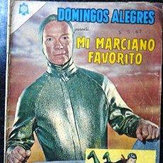 Tebeos: DOMINGOS ALEGRES # 575 - MI MARCIANO FAVORITO - RAY WALSTON & BIXBY - NOVARO - AÑO 1965 - COLECCION. Lote 26930551