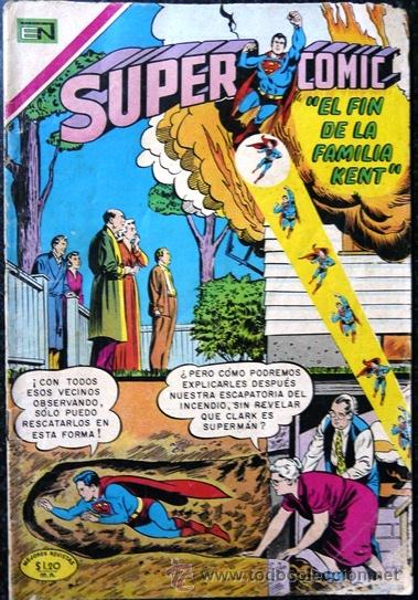 1969 SUPERCOMIC # 29 SUPERMAN AQUAMAN & FLECHA VERDE NOVARO MUY BUEN ESTADO (Tebeos y Comics - Novaro - Superman)