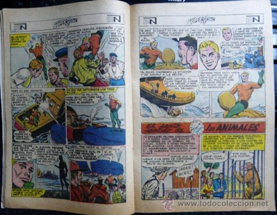 Tebeos: 1969 SUPERCOMIC # 29 SUPERMAN AQUAMAN & FLECHA VERDE NOVARO MUY BUEN ESTADO - Foto 2 - 26990340