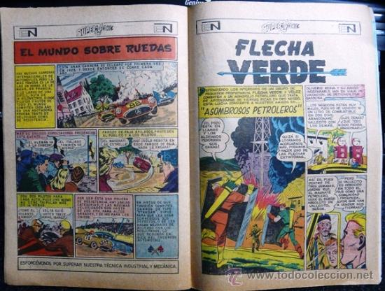 Tebeos: 1969 SUPERCOMIC # 29 SUPERMAN AQUAMAN & FLECHA VERDE NOVARO MUY BUEN ESTADO - Foto 3 - 26990340