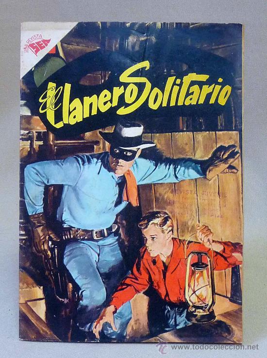 COMIC, EL LLANERO SOLITARIO, AÑO V, Nº 55, NOVARO (Tebeos y Comics - Novaro - El Llanero Solitario)
