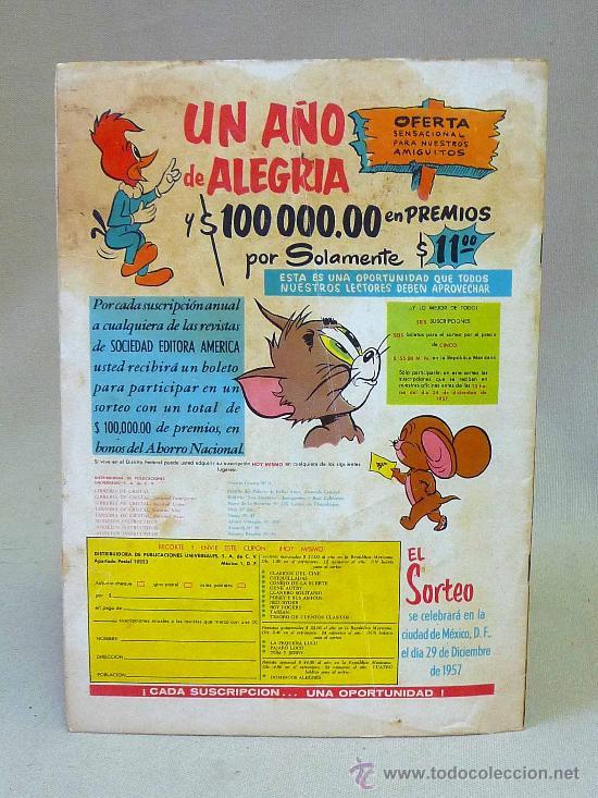 Tebeos: COMIC, EL LLANERO SOLITARIO, AÑO V, Nº 55, NOVARO - Foto 2 - 27511974