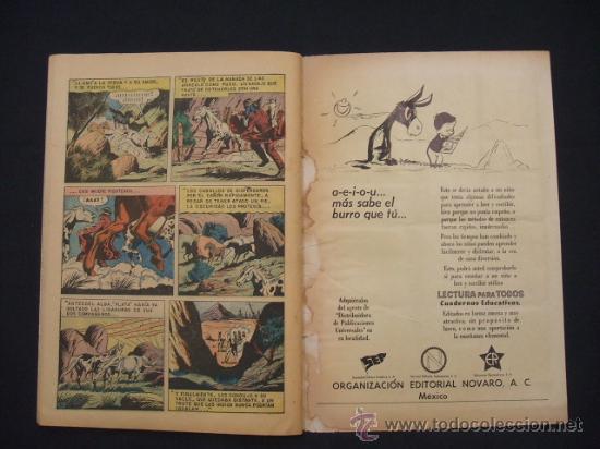 Tebeos: EL LLANERO SOLITARIO - Nº 99 - AÑO 1961 - NOVARO - - Foto 6 - 27517694
