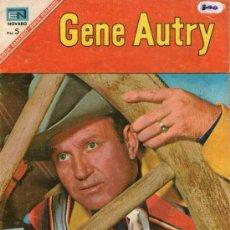 Tebeos: GENE AUTRY - Nº 157 - EDITORIAL NOVARO - ABRIL-1967 - EL ASALTO - .. Lote 27699887