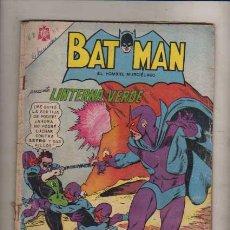 Tebeos: BATMAN --PRES. LINTERNA VERDE--NUM.319. Lote 44693156