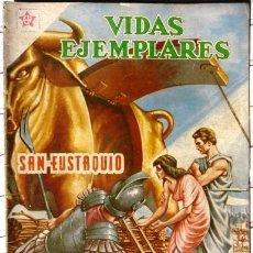Tebeos: VIDAS EJEMPLARES # 80 SAN EUSTAQUIO NOVARO 1960 BUEN ESTADO. Lote 27922076