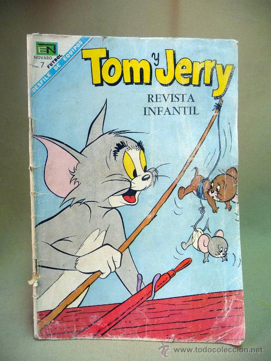 COMIC, TOM Y JERRY, Nº 254, AÑO XVII, 1968, NOVARO (Tebeos y Comics - Novaro - Tom y Jerry)