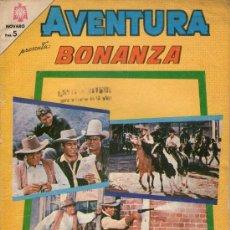 Tebeos: AVENTURA - Nº 413 - BONANZA - EDITORIAL NOVARO - AÑO 1965. Lote 27953046