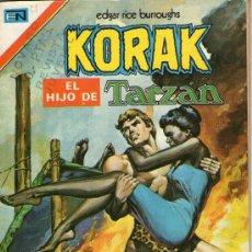 Tebeos: KORAK EL HIJO DE TARZÁN - Nº 21 - EDITORIAL NOVARO - AÑO 1974.. Lote 27953144