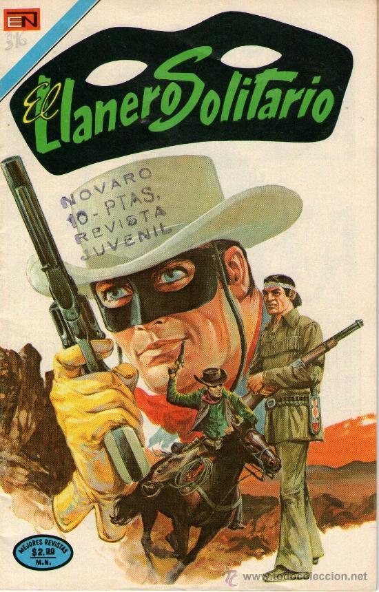 EL LLANERO SOLITARIO - Nº 316 - EDITORIAL NOVARO - AÑO 1974 (Tebeos y Comics - Novaro - El Llanero Solitario)