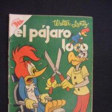 Tebeos: EL PAJARO LOCO - Nº 74 - WALTER LANTZ - 1 NOVIEMBRE 1955 - SEA - NOVARO -. Lote 28036796