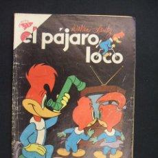 Tebeos: EL PAJARO LOCO - Nº 188 - WALTER LANTZ - 1 AGOSTO 1960 - SEA - NOVARO -. Lote 28037048