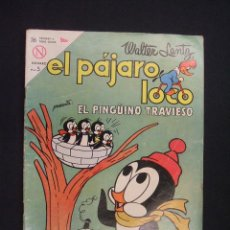Tebeos: EL PAJARO LOCO - Nº 253 - WALTER LANTZ - 1 ENERO 1964 - NOVARO -. Lote 28037324