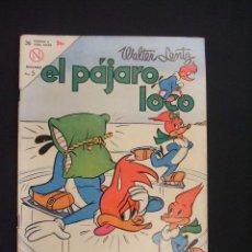 Tebeos: EL PAJARO LOCO - Nº 252 - WALTER LANTZ - 1 DICIEMBRE 1963 - NOVARO -. Lote 28037402