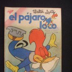 Tebeos: EL PAJARO LOCO - Nº 167 - WALTER LANTZ - 15 SEPTIEMBRE 1959 - SEA - NOVARO -. Lote 28037468