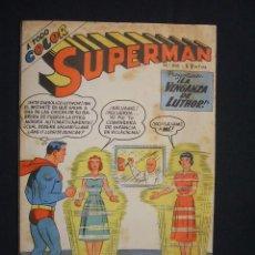 Tebeos: SUPERMAN - Nº 316 - LA VENGANZA DE LUTHOR - EDITORIAL MUCHNIK (ARGENTINA) - AÑO 1960 -. Lote 28091893