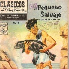 Tebeos: CLASICOS ILUSTRADO LA PRENSA Nº 79 EL PEQUEÑO SALVAJE. Lote 28123707