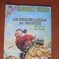 Tebeos: GRANDES VIAJES Nº 132 - LOS COSACOS LLEGAN AL PACÍFICO -- 9 JULIO 1973. Lote 28188379